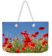 Common Poppy Flowers Weekender Tote Bag