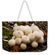 Common Puffball Mushrooms Lycoperdon Perlatum Weekender Tote Bag