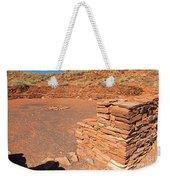 Community Room At Wupatki Pueblo In Wupatki National Monument Weekender Tote Bag