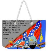 Confederate States Of America Robert E Lee Weekender Tote Bag