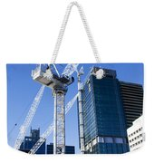 Construction City Weekender Tote Bag