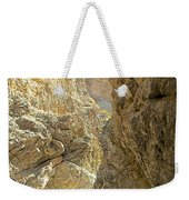 Contrasting Canyon Colors In Big Painted Canyon Trail In Mecca Hills-ca Weekender Tote Bag