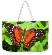 Coolie Butterfly Weekender Tote Bag