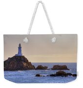 Corbiere Lighthouse - Jersey Weekender Tote Bag