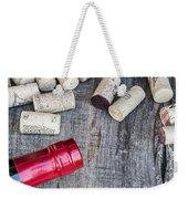 Corks With Bottle Weekender Tote Bag