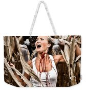 Corn Field Horror Weekender Tote Bag