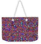 Cosmic Star Sparkles Spectrum Abstract Art By Navin Joshi Created Out Of Christmas Lights Gifts And  Weekender Tote Bag