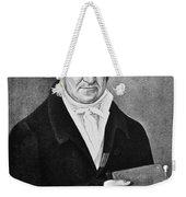 Count Alessandro Volta (1745-1827) Weekender Tote Bag