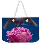 Count Bluebird Weekender Tote Bag by Jean Noren