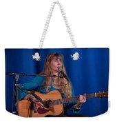 Country Blues Singer Rory Block In Concert Weekender Tote Bag