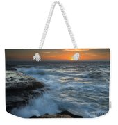 Covered By The Sea Weekender Tote Bag