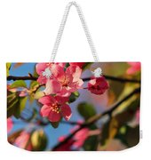 Crab Apple Weekender Tote Bag