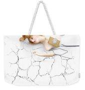 Cracked And Broken Weekender Tote Bag