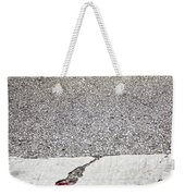 Cracked Weekender Tote Bag by Margie Hurwich