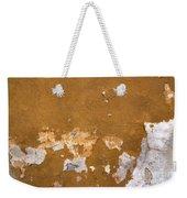 Cracked Stucco - Grunge Background Weekender Tote Bag