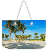 Crandon Park Beach Weekender Tote Bag