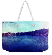 Crater Lake As A Painting Weekender Tote Bag