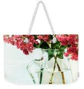 Crepe Myrtle In A Vase Weekender Tote Bag