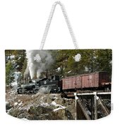 Crossing The High Bridge Weekender Tote Bag