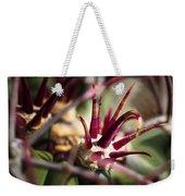 Crown Of Thorns Weekender Tote Bag by Kelley King