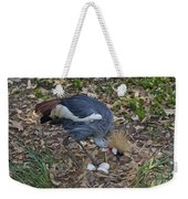 Crowned Crane And Eggs Weekender Tote Bag