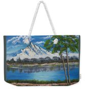 Crystal Mountain Weekender Tote Bag
