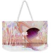 Crystal Sunset Weekender Tote Bag