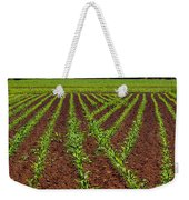 Cultivated Land Weekender Tote Bag by Carlos Caetano