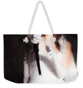 Cupid Angel Of Romance Setting Hearts On Fire Weekender Tote Bag