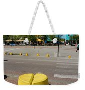 Curacaos Colorful Architecture Weekender Tote Bag