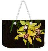 Dendrobium Orchid Weekender Tote Bag