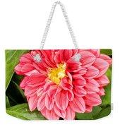 Dahlia Flower Weekender Tote Bag