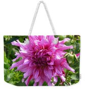 Dahlia Named Annette C Weekender Tote Bag