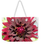 Dahlia Named Black Wizard Weekender Tote Bag