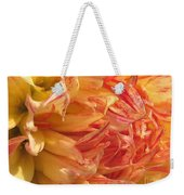 Dahlia Named Misty Explosion Weekender Tote Bag