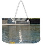 Dam Reflection Weekender Tote Bag