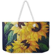 Dancing Sunflowers  Weekender Tote Bag