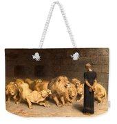 Daniel In The Lions Den Weekender Tote Bag
