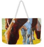 Dartmoor Ponies Painting Weekender Tote Bag