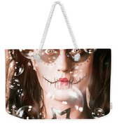 Day Of The Dead Girl Blowing Party Bubbles Weekender Tote Bag