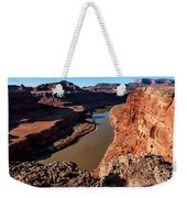 Dead Horse Point Colorado River Bend Weekender Tote Bag