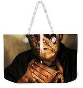 Dead Man Smoking Weekender Tote Bag