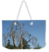 Dead Tree With Crow Weekender Tote Bag