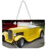 Deep Yellow Weekender Tote Bag