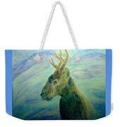 Deer At Home Weekender Tote Bag