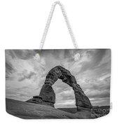 Delicate Arch Bw Weekender Tote Bag