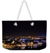 Derry At Night Weekender Tote Bag