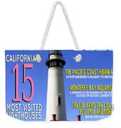Destinations Usa Faux Magazine Cover Weekender Tote Bag