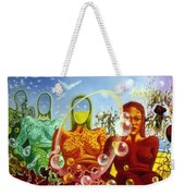 Detail From - The Dreamer's Night Weekender Tote Bag