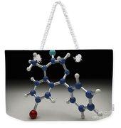 Diazepam Molecule Weekender Tote Bag